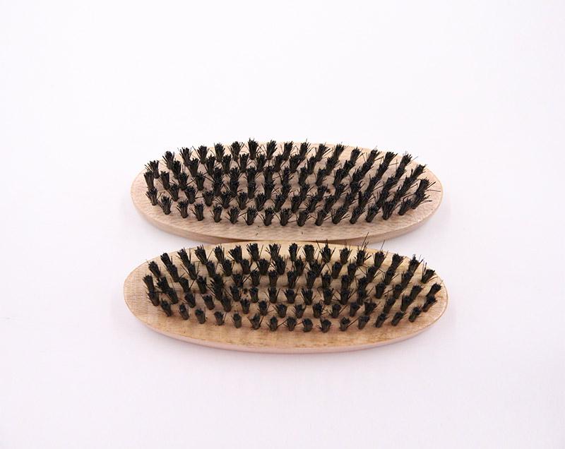 黑色PP丝鞋刷套装